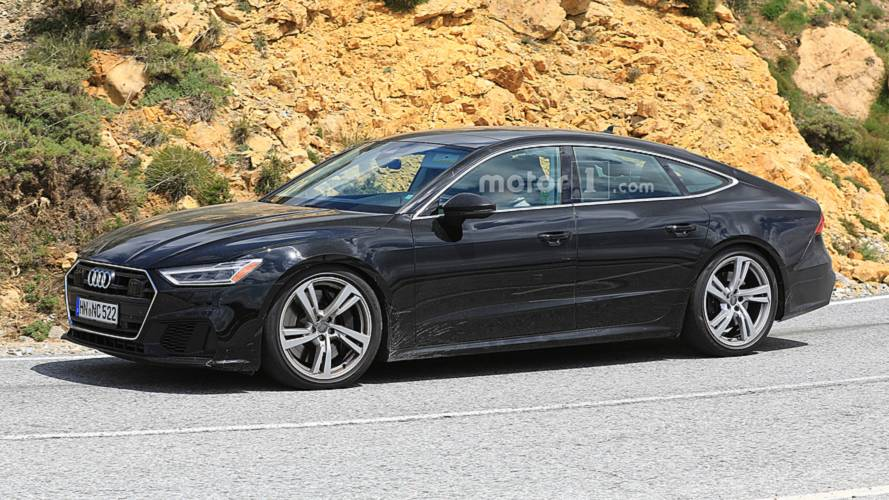 Audi S7 Spy Photos