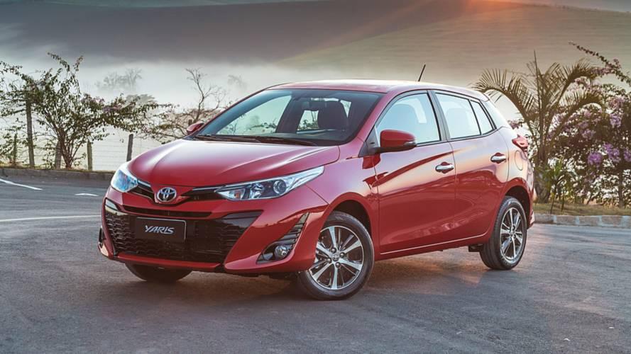 Toyota Yaris Hatch fica mais caro - Veja tabela de preços completa