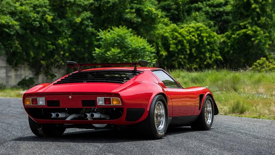 Restauration Lamborghini Miura SVR