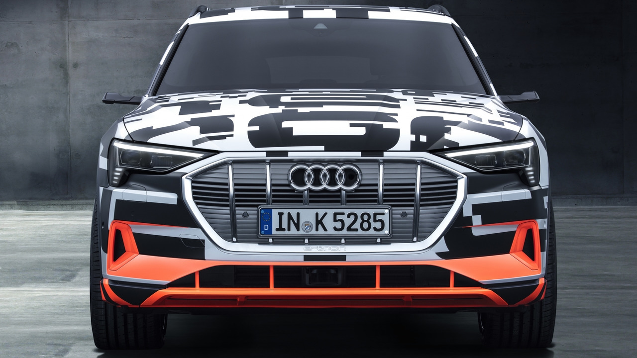 Aerodinamica, Audi e-tron