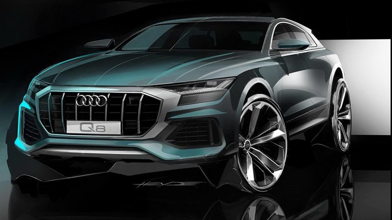 Audi Q8 teaser
