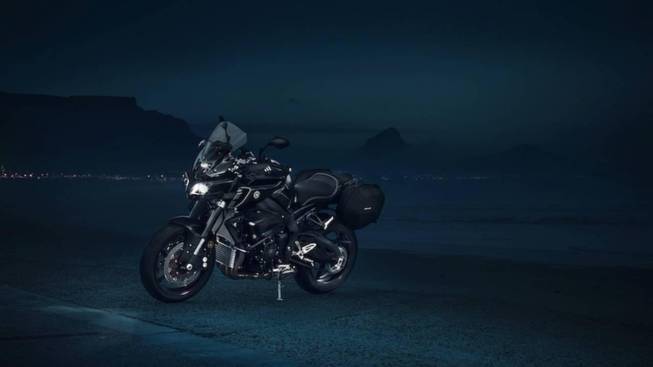 Europeans Get Touring Ready Yamaha Fz 10