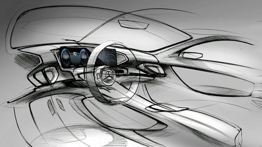 Vázlatfotókon a vadonatúj Mercedes-benz GLE utastere