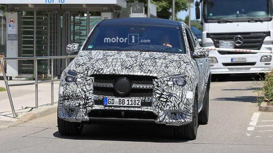 2020 Mercedes GLE Coupe Casus Fotoğraflar