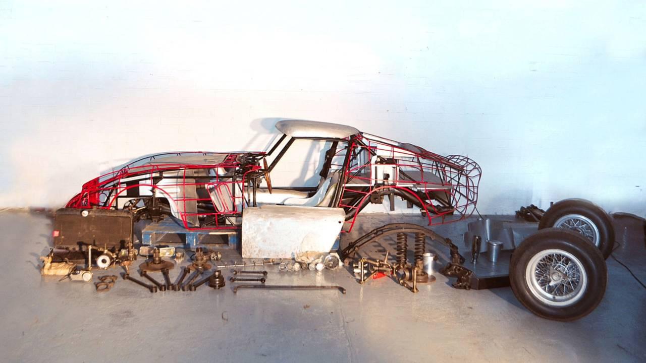 Ferrari GTO en kit