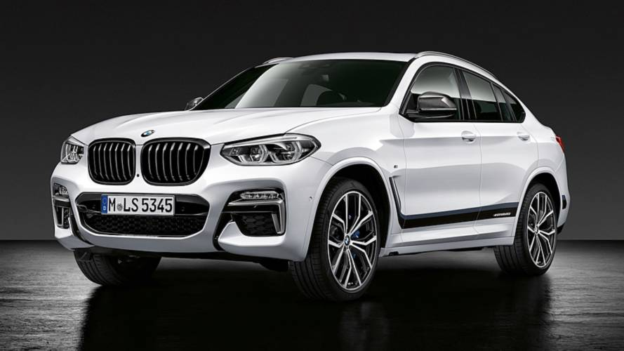 BMW X4 2018 catálogo M Performance