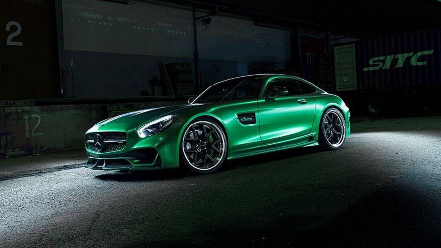 La Mercedes-AMG GT revue par Wald International