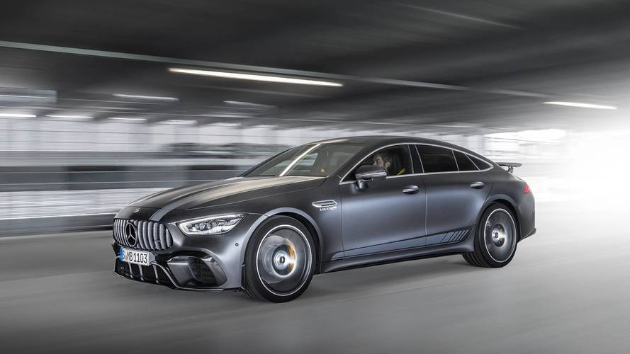 Mercedes-AMG GT 4-Door Coupe üretime girdi