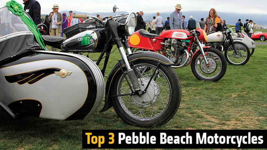 Top 3 Pebble Beach Motorcycles