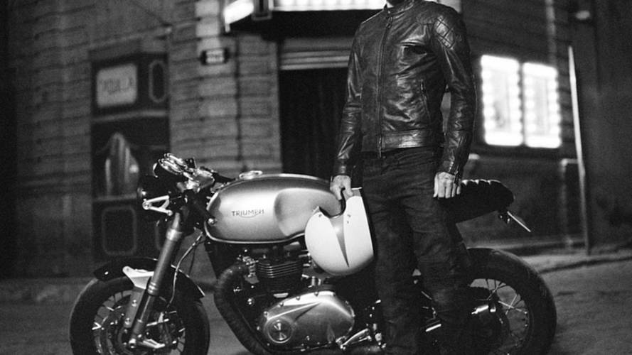 Did Triumph Just Tease the New Bonneville by Accident? Video with David Beckham and Belstaff