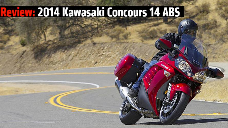 RideApart Review: 2014 Kawasaki Concours 14 ABS