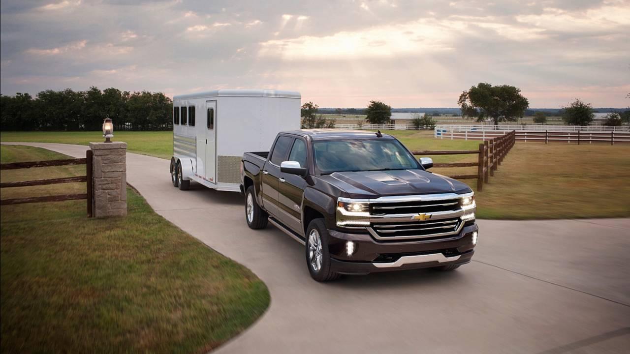 8. Full-Size Pickup Truck: Chevrolet Silverado 1500