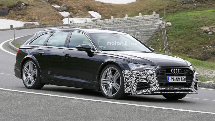 Audi RS6 Avant Spy Photos