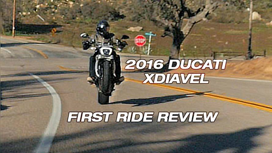 First Ride: 2016 Ducati XDiavel