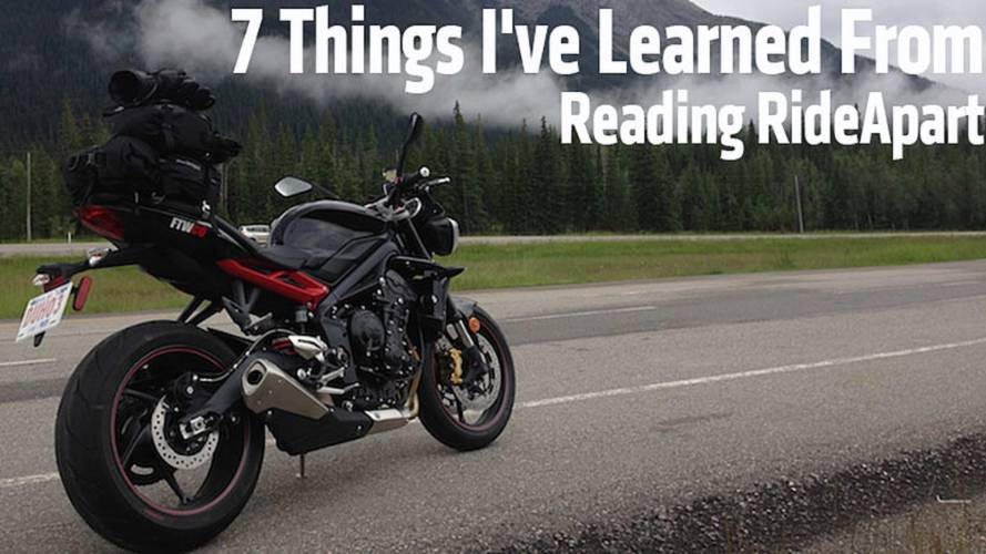 7 Things I've Learned From Reading RideApart