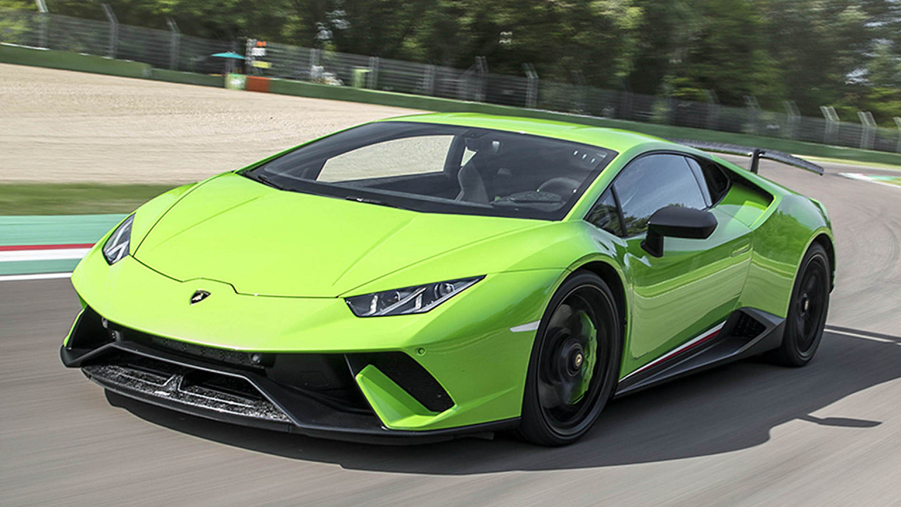 Platz 2: Lamborghini Huracán Performante (6:52.01)
