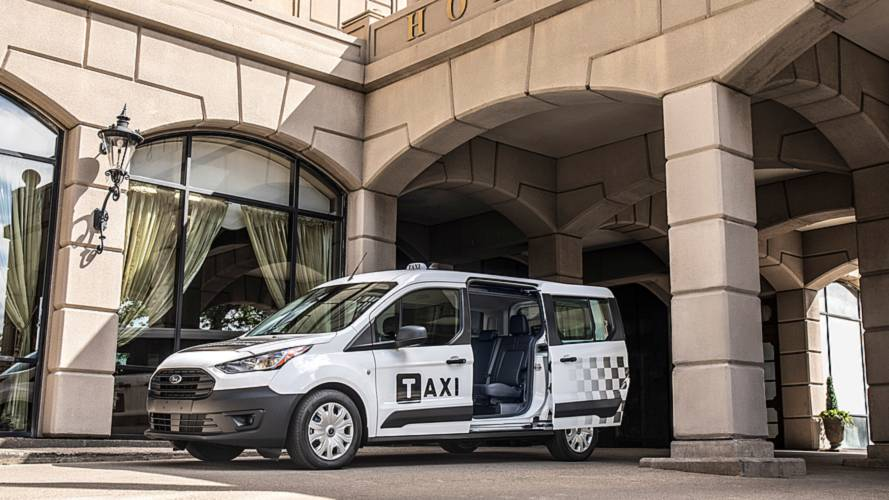 Ford Fusion ve Transit Taxi