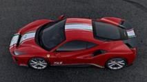 Ferrari 488 Pista Piloti Ferrari in Rosso Corsa