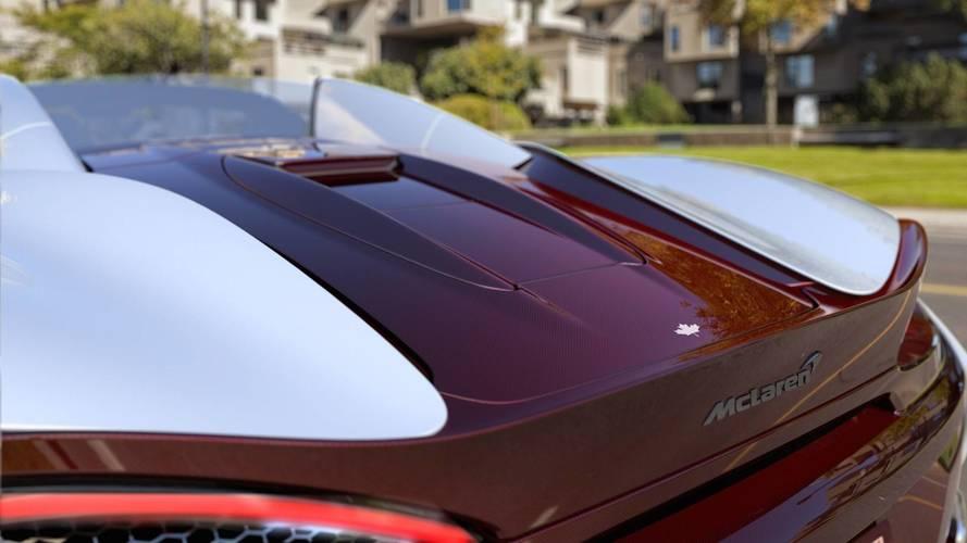 McLaren 570S Canada Commission