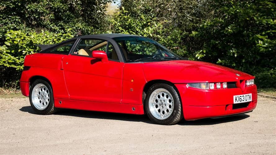 """Alfa Romeo SZ, il """"Mostro"""" è all'asta"""