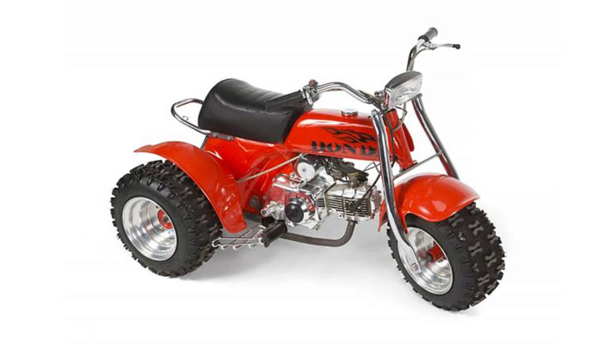 The Jackson 5's Custom Honda Three Wheeler up for Auction