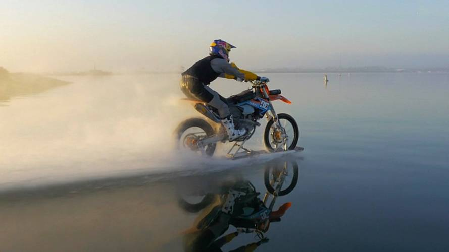 Robbie Maddison Returns to the Surf
