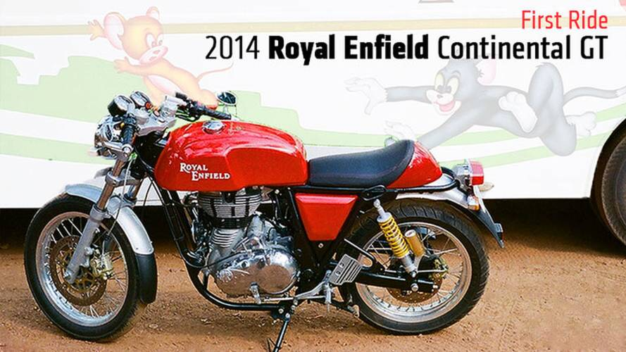First Ride: 2014 Royal Enfield Continental GT