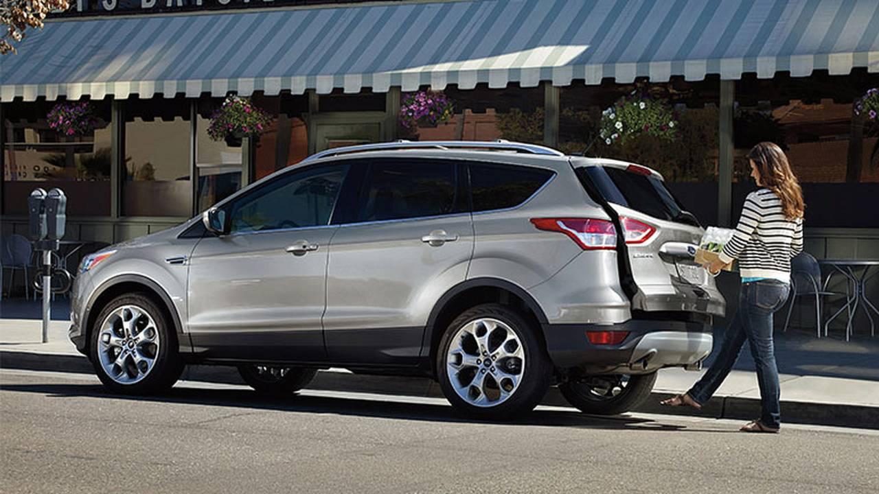 2014 Ford Escape rear door