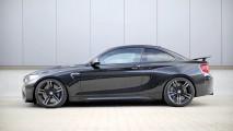 Höhenverstellbares Federsystem für BMW M2