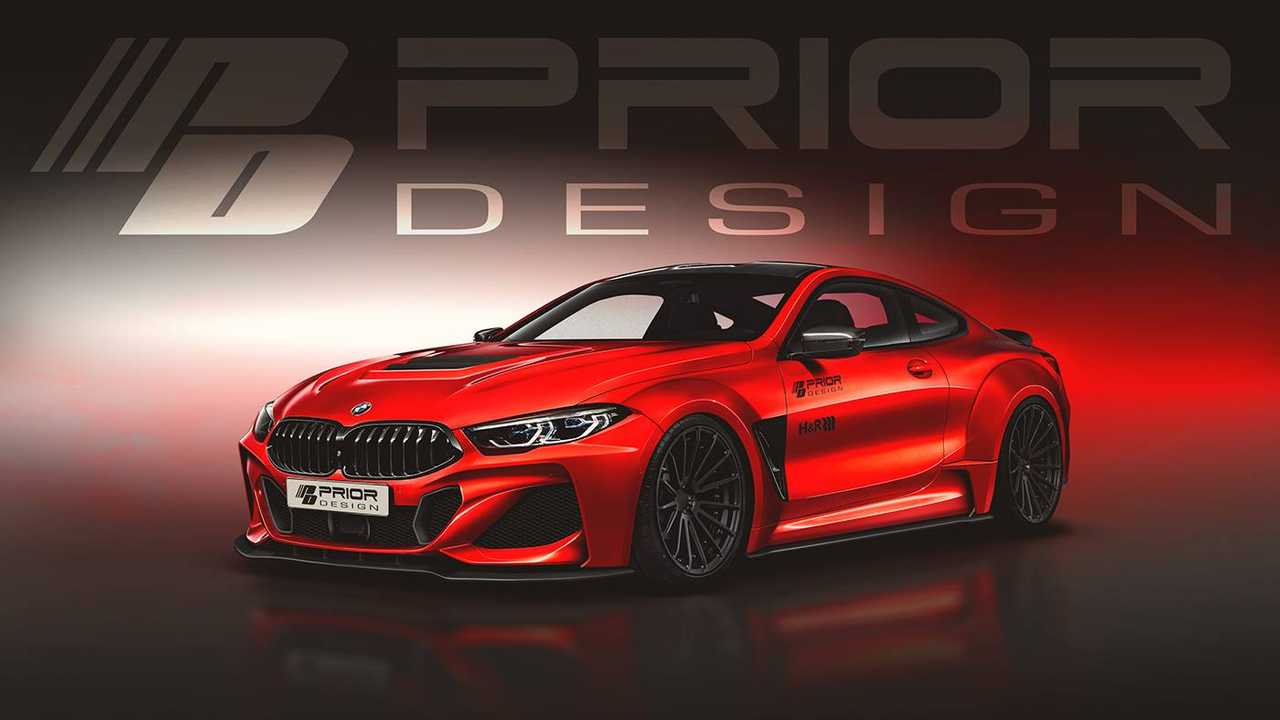 BMW 8 Series Coupe by Prior Design