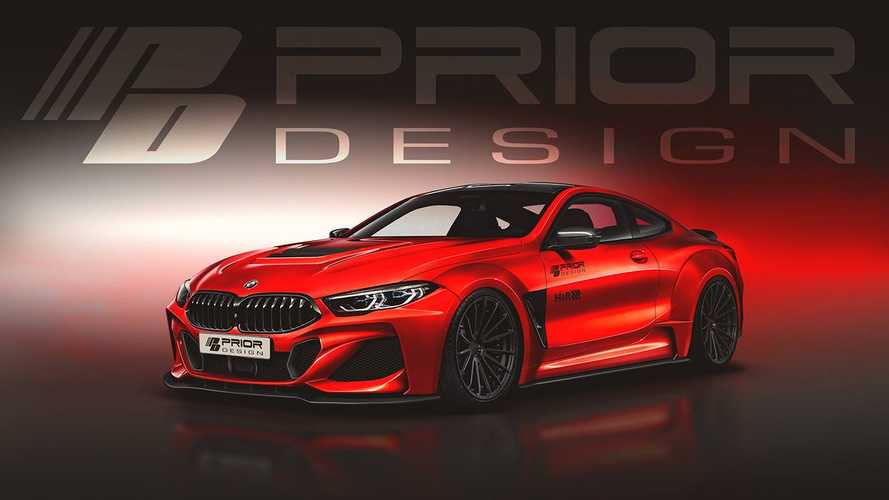 BMW 8 Series Already Getting Widebody Treatment