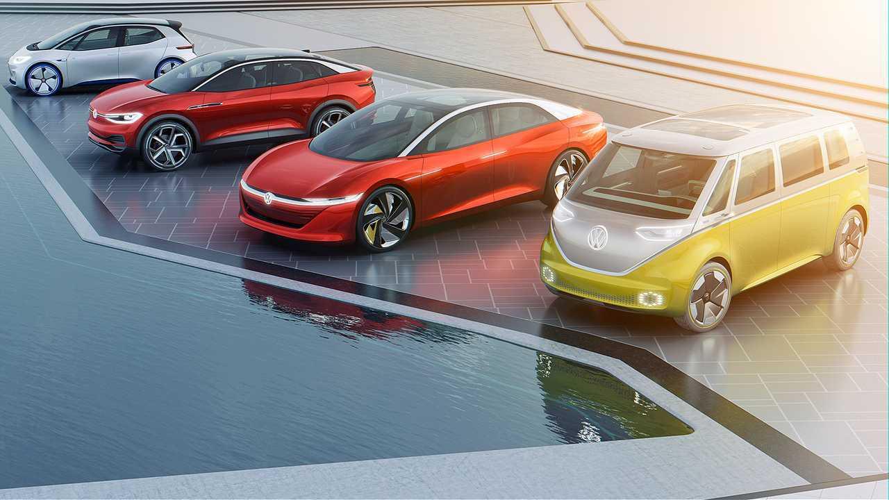Volkswagen I.D., la gamma elettrica