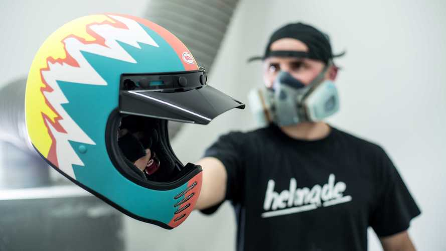 Build Your Own Lid With Bell Helmets' New Custom Program