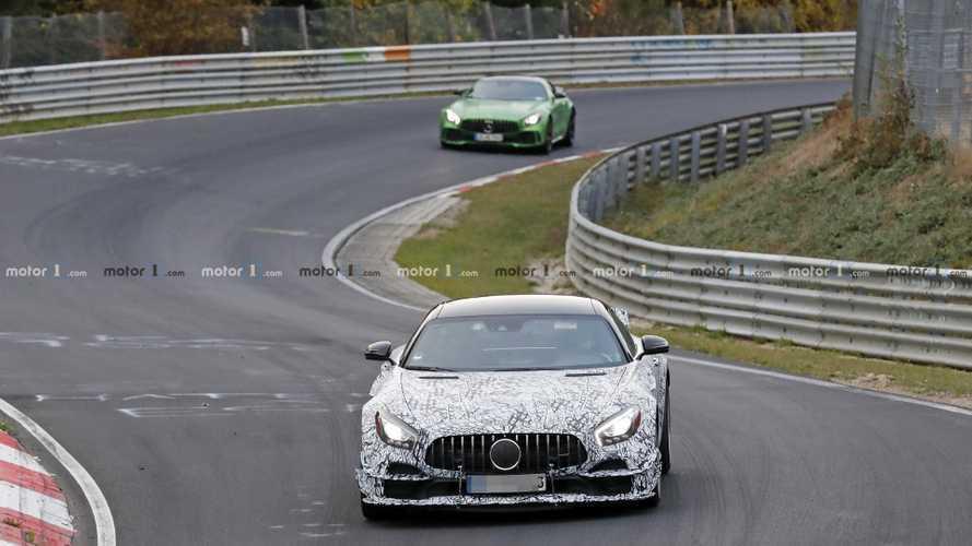 Mercedes-AMG GT R Clubsport spy photos