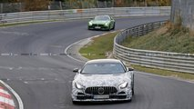 Mercedes-AMG GT R Clubsport spy photos