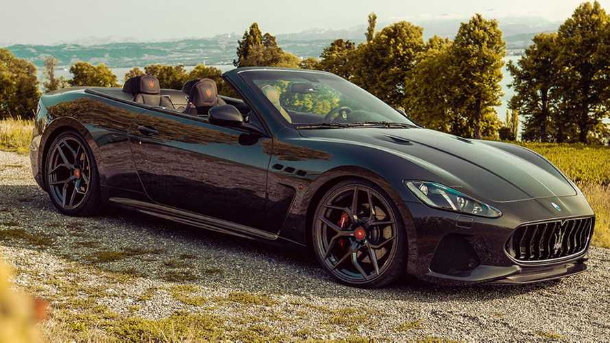 Maserati GranCabrio Stays Fresh With 477 HP From Pogea Racing
