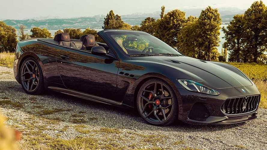 Pogea Racing modifiyeli Maserati GranCabrio'ya bir göz atın