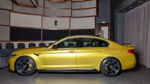 BMW M5 Competition amarillo Austin Yellow