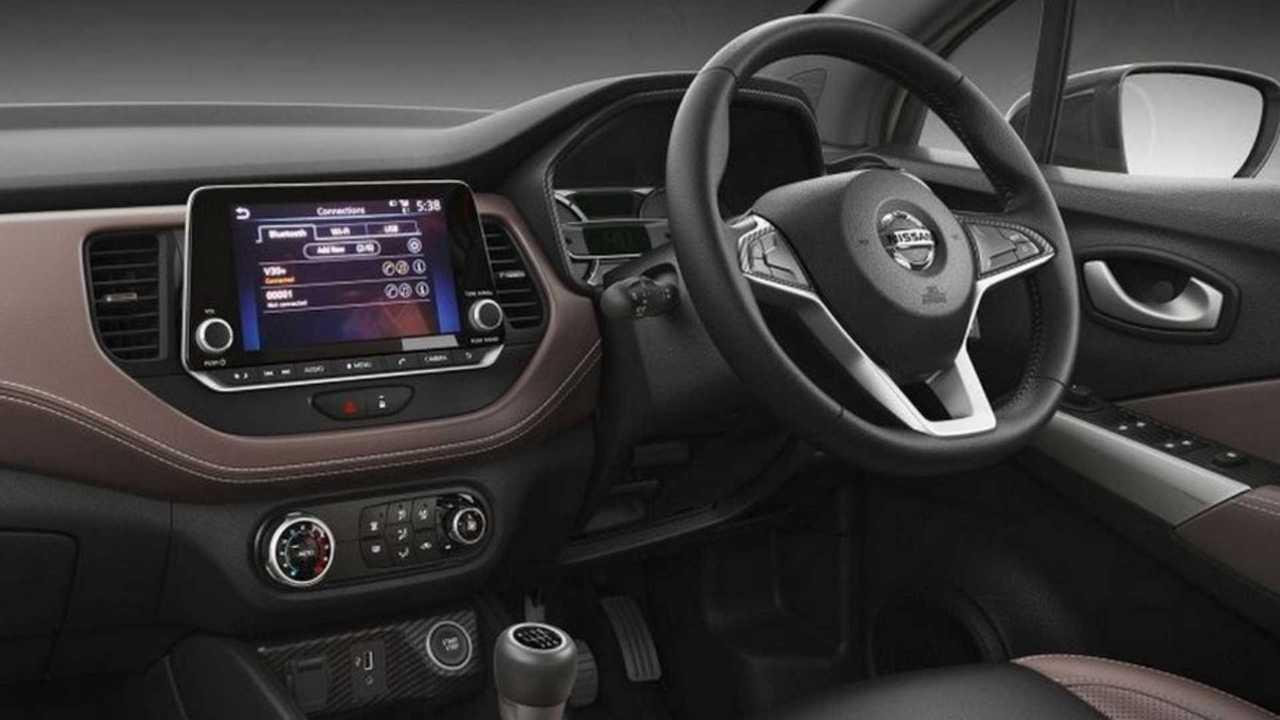 Nissan Kicks Índia - Interior