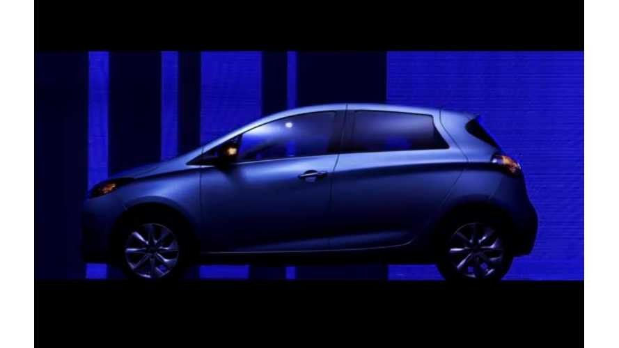 Further Proof The French Are Crazy:  Renault Zoe Stars In French Short Film - La Fée Electricité