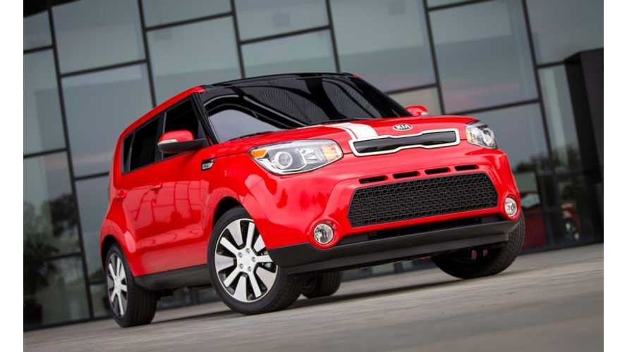 2015 Kia Soul EV to Make World Premiere at 2014 Chicago Auto Show This Week