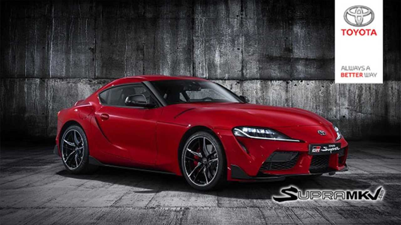 Toyota Supra Photo Fuite
