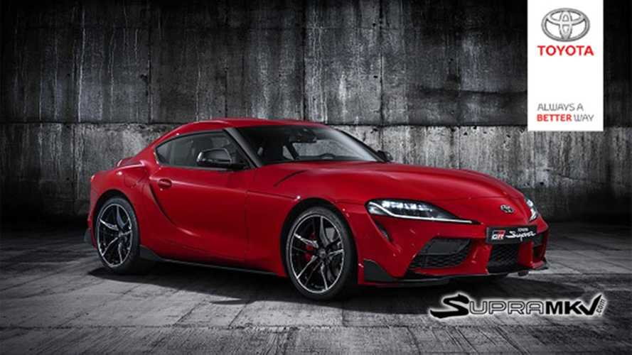 Toyota Supra official photos leak