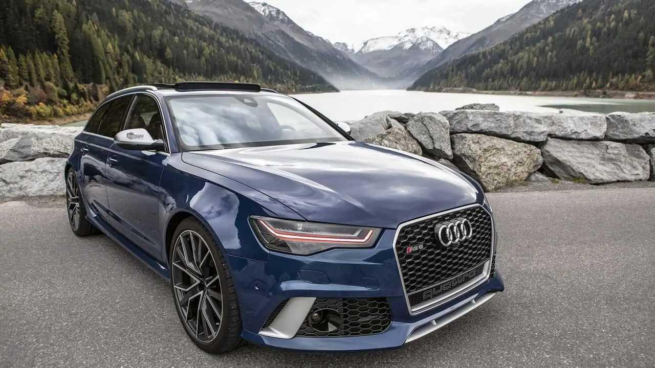 Audi RS6 Avant Performance в Альпах