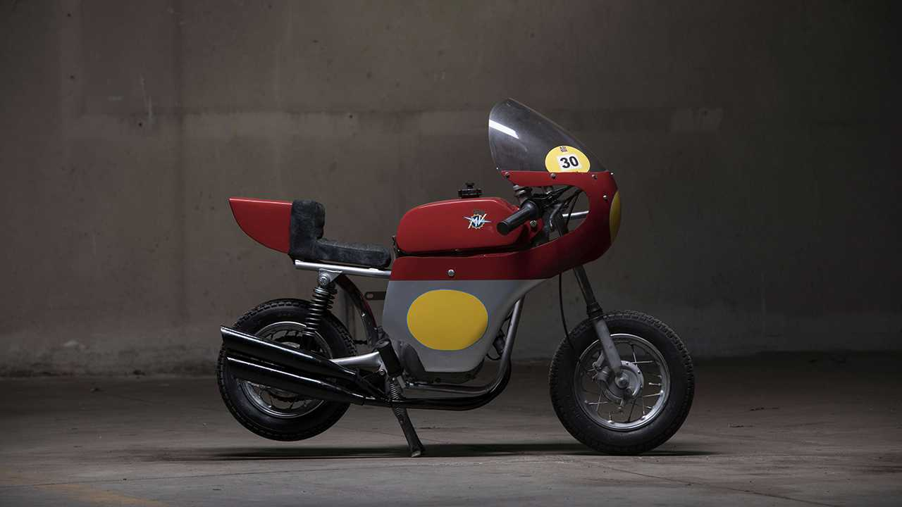 1976 MV Agusta Mini Bike Racing