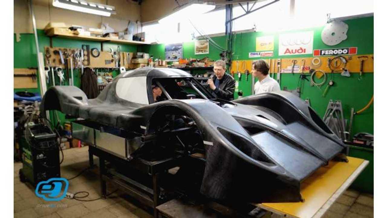 Latvian Team eO Prepping 400-kW Monster for Pikes Peak