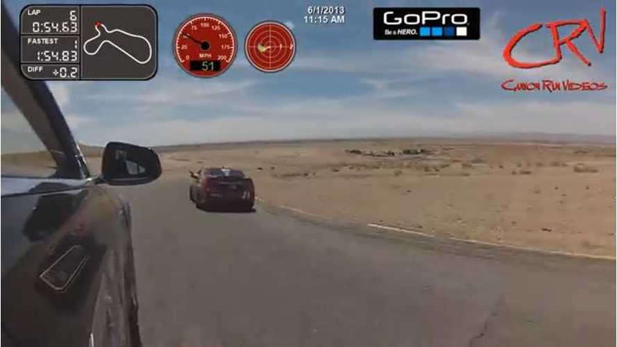 Video: Watch This Tesla Model S Race at Willow Springs
