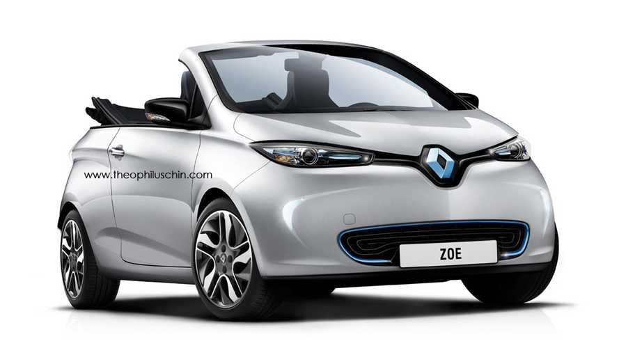 More Shots Of The Renault Zoe Convertible Surface