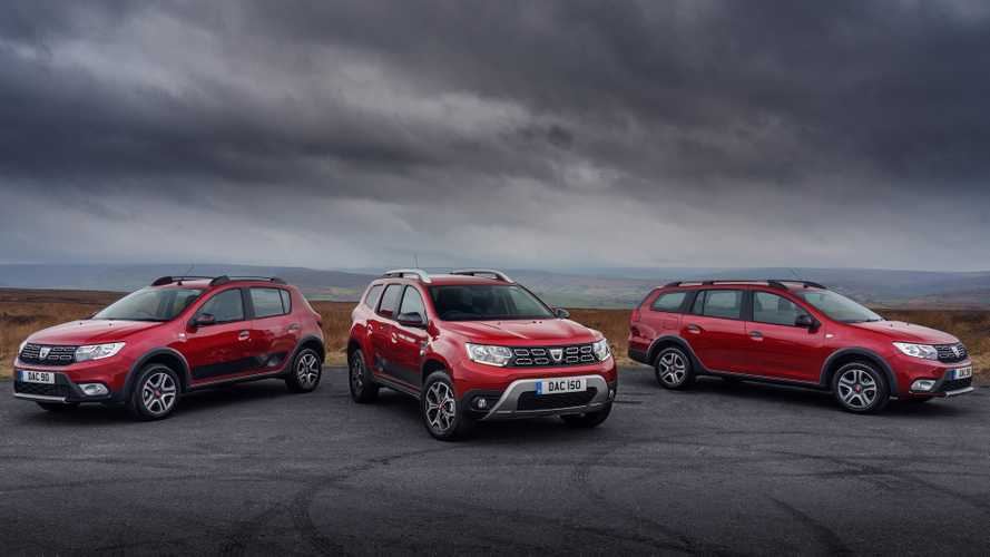 New Dacia Techroad models top Sandero, Logan and Duster ranges