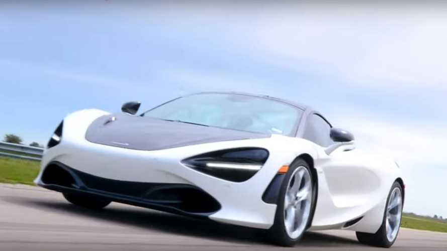 Watch Hennessey's 809-whp McLaren 720S in action